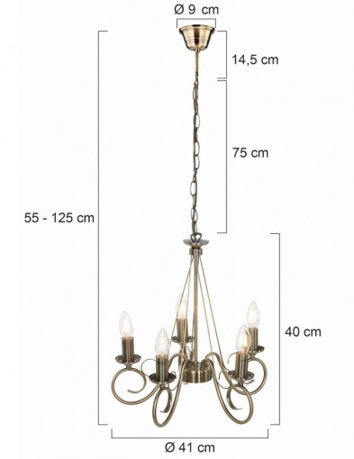 lampara-de-arana-bronce-cinco-luces-8539BR-3