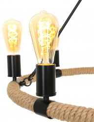 lampara-de-arana-moderna-ocho-luces-negra-1722ZW-1
