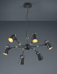 lampara-de-arana-negra-y-dorada-1798ZW-1