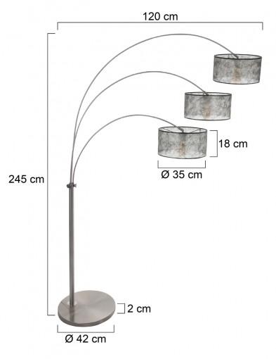 lampara-de-arco-tres-luces-9960ST-6