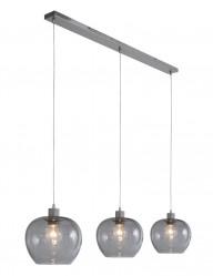 lampara de cristal tres luces-1898ST