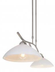 lampara de doble suspension-6836ST