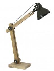 lampara de escritorio en madera-1917ZW
