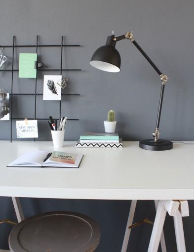 lampara de escritorio estilo industrial negro-7645zw