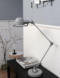 lampara de escritorio gris-7655GR