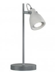 lampara de escritorio industrial gris-1815GR