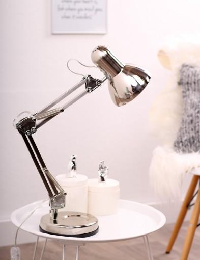 lampara de escritorio metalica-8552ST