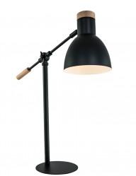 lampara de escritorio negra ajustable-1201ZW