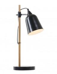 lampara de escritorio negra de diseno-7851ZW