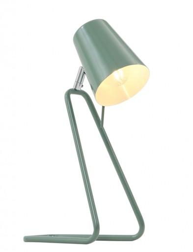 lampara de escritorio verde-7849G