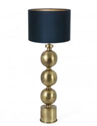 lampara de esferas azul jadey-9176GO