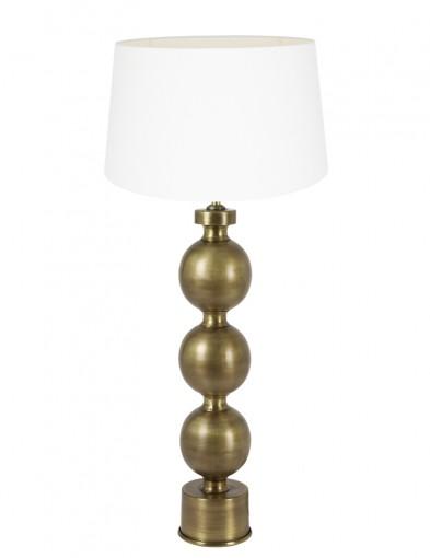 lampara de esferas blanca jadey-9174GO