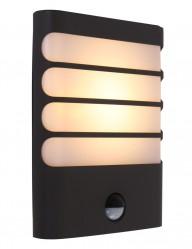 lampara de exterior negra moderna-1466A