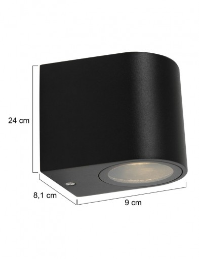 lampara-de-exterior-pequena-negra-1494ZW-3