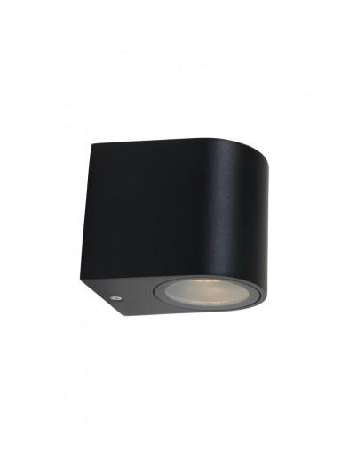 lampara de exterior pequena negra-1494ZW