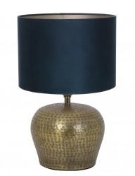 lampara de jarron azul-9971BR