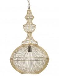 lampara de jaula dorada-2044GO