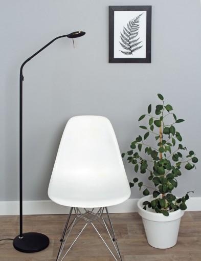 lampara de lectura led negro-7910ZW