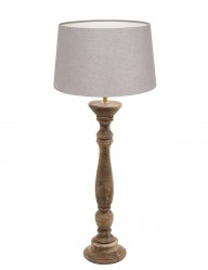 lampara de madera gris-9178BE