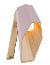 lampara de madera rosa-1048RZ