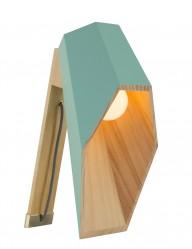 lampara de madera verde agua-1048G