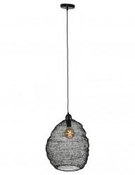 lampara-de-malla-de-metal-negro-1377ZW-1