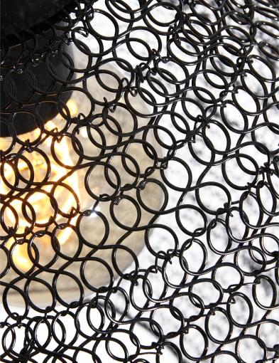 lampara-de-malla-de-metal-negro-1377ZW-4