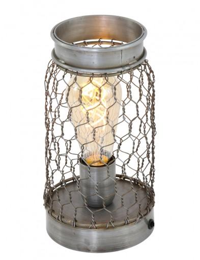 lampara de malla de metal vintage-1401ST