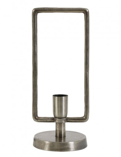lampara de mesa antigua de laton-1764ST