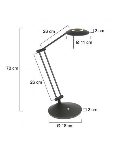lampara-de-mesa-articulada-negra-2109ZW-7