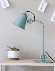lampara de mesa azul-1324G