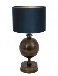 lampara de mesa azul-9962BR
