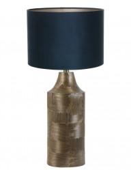 lampara de mesa azul lundey-9252BR