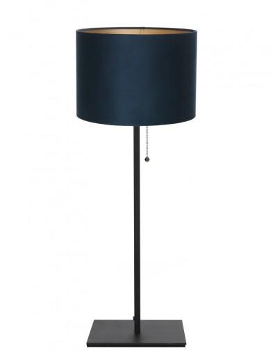 lampara de mesa azul mason-9165ZW