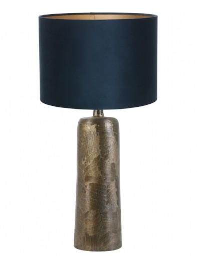 lampara de mesa azul papey-9192BR