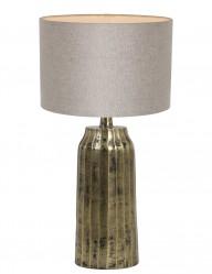 lampara de mesa beige-9211GO