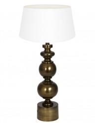 lampara de mesa blanca pagai-9268BR