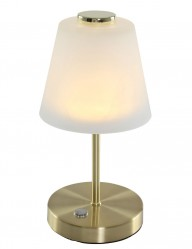 lampara de mesa clasica dorada-1650ME
