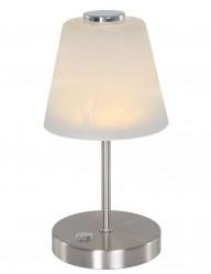 lampara de mesa clasica plateada-1650ST