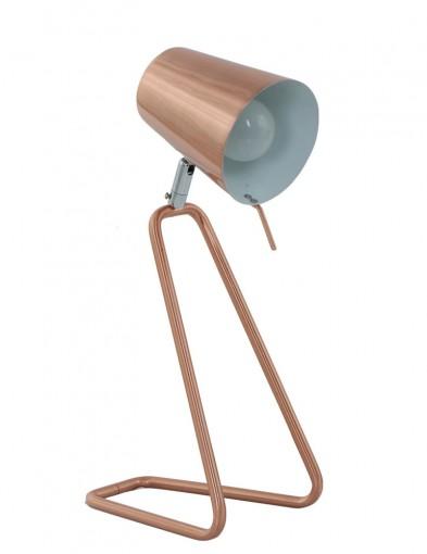 lampara de mesa cobriza-7849KO