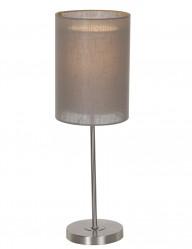 lampara de mesa color topo-1512ST