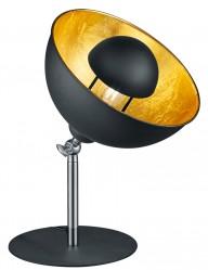 lampara de mesa con interior dorado-1822ZW