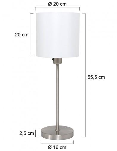 lampara-de-mesa-con-pantalla-redonda-blanca-1563ST-7