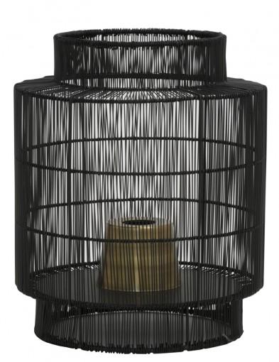lampara de mesa de alambre-1935ZW