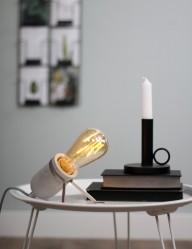 lampara de mesa de cemento-1389GR