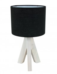 lampara de mesa de madera-1163ZW