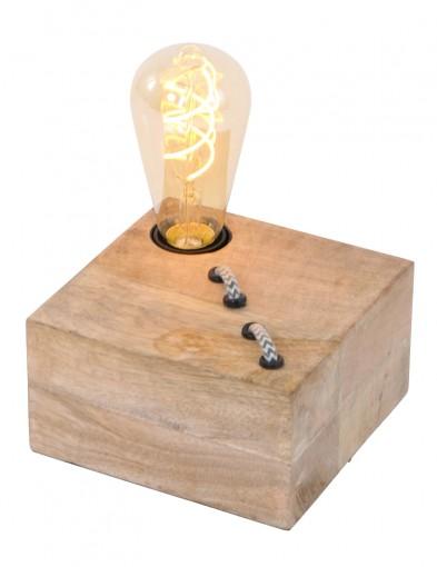 lampara de mesa de madera-1391NO