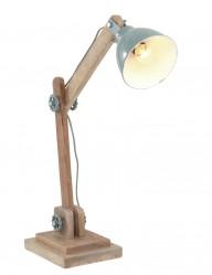 lampara de mesa de madera-1556G
