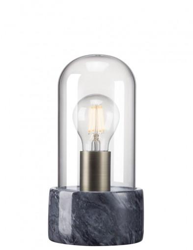 lampara de mesa diseño negro-2379ZW