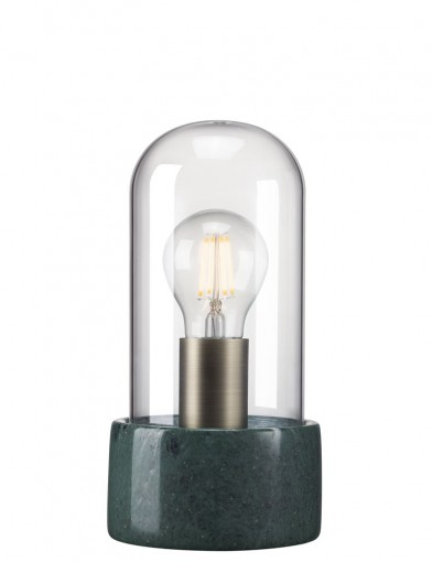 lampara de mesa diseño verde-2380G